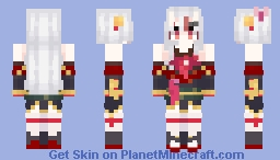 Hololive / Nakiri Ayame but it's a redo i'm actually proud of woah Minecraft Skin