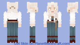 [COMMISSION] 𝓐 𝓼𝓽𝓸𝓻𝓶𝔂 𝓿𝓲𝓼𝓲𝓽𝓸𝓻 Minecraft Skin