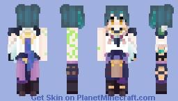 Xiao Minecraft Skin