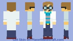 Lab Nerd Minecraft Skin