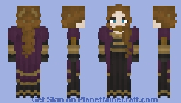 [Winterfest Community Event] Anna from Frozen Minecraft Skin