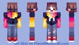.;* comedy genius *;. Minecraft Skin