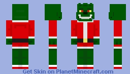Grinchy Minecraft Skin