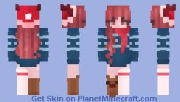 🦌 𝑀𝑒𝓇𝓇𝓎 𝑅𝑒𝒾𝓃𝓂𝒶𝓈 🦌 Minecraft Skin