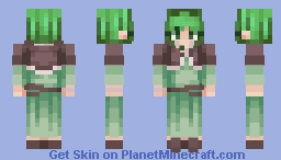 """""""I've decided too. If you're going to remain human, Michaela, then I won't return to being a spirit either."""" // Gumillia // Evillious Chronicles Minecraft Skin"""
