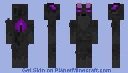 Fluffy Ender Demon Minecraft Skin