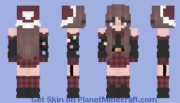 aster christmas Minecraft Skin