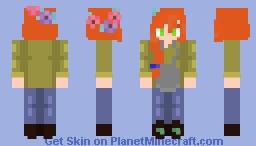 (F)lower ~ xd Minecraft Skin