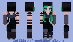 billie eillish (read desc) Minecraft Skin
