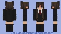 College girl Minecraft Skin