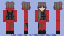 Swat girl Minecraft Skin