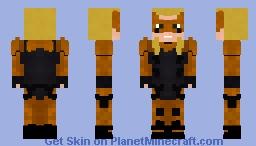 Tigress | Young Justice | Season 3 Minecraft Skin
