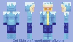 Snowy Winter Minecraft Skin