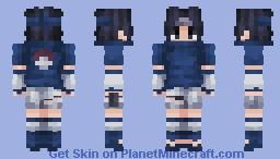Sasuke Uchiha | Naruto Minecraft Skin