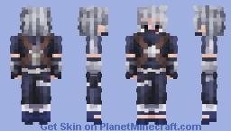 Kakashi Hatake | Naruto: Shippuden Minecraft Skin