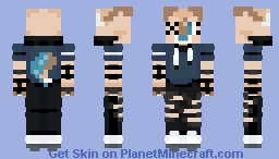 paws again but in a pogchamp outifit (not made by me) Minecraft Skin