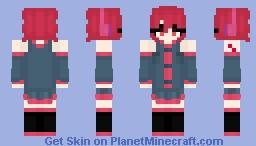 Kasane Teto Minecraft Skin