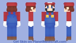 Mario SSBU Minecraft Skin