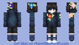 Maddie S. Cloud (spring theme) Minecraft Skin