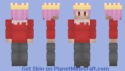 - technoblade NEVA dies - Minecraft Skin
