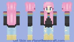 Pan Flag Minecraft Skin