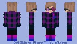 Cute eboy with bi socks Minecraft Skin