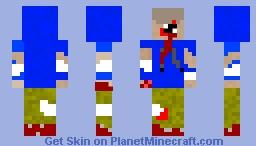 hunter from left 4 dead Minecraft Skin