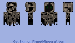 Fading Hooded Ghost Minecraft Skin