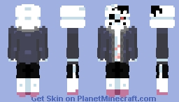 Horror sans (Remstered) Minecraft Skin