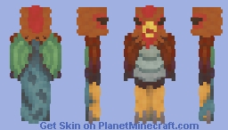 Cockatrice   Medieval Mayhem Contest Entry Minecraft Skin