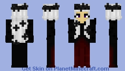 The Queen of Dead Roses Minecraft Skin