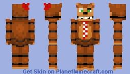 Nedd Bear -Freddy Fazbear Pizzeria Simulator Minecraft Skin