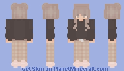 mocha girl Minecraft Skin