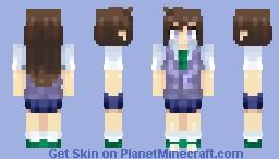 Ran Mouri (Detective Conan) Minecraft Skin