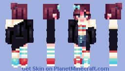 .;* hop step jump *;. Minecraft Skin