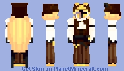 timekeeper cookie Minecraft Skin