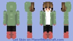 Storyshift Chara Minecraft Skin