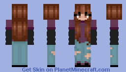 i like the silence Minecraft Skin