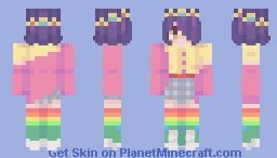 Byte ( Kidcore ) Minecraft Skin