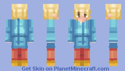 - _ -  the hanged man - tarot card  - _ - Minecraft Skin