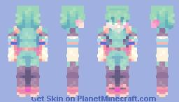 + Izuku Midoriya + Minecraft Skin