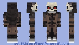 The Cloaked Assassin Minecraft Skin