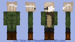 eyepatch Minecraft Skin
