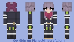 Shinoa Hiiragi Minecraft Skin
