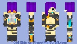 FinnBoyFox - CG-238 (Fiana) Minecraft Skin