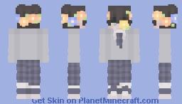 c: Rainbow Flower Boy c: Minecraft Skin