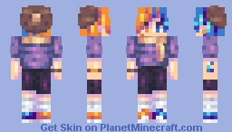 Blueberries and Oranges ~;~ rce Minecraft Skin