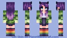 justaminx -remake Minecraft Skin