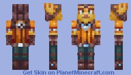 Ratchet - Ratchet & Clank Rift Apart [Default Resolution] Minecraft Skin