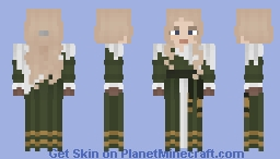 Green Girl [LOTC] Minecraft Skin